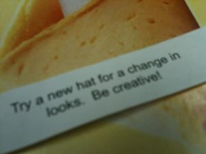 An actionable fortune!